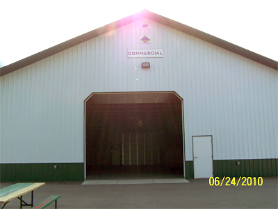 Carver County Fair Commercial Building