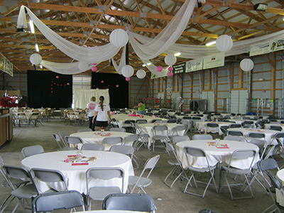 Wedding at Carver County Fair Entertainment Center