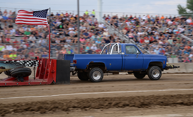 Out-of-Field Truck Pull