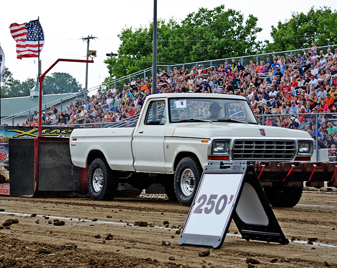 Carver County Fair Out-of-field Truck Pull