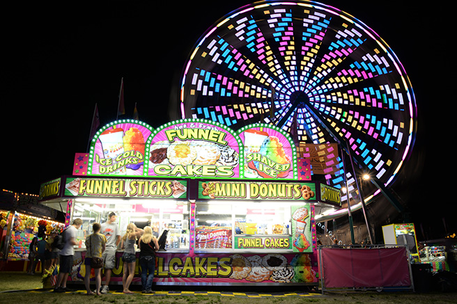 Carver County Fair Midway