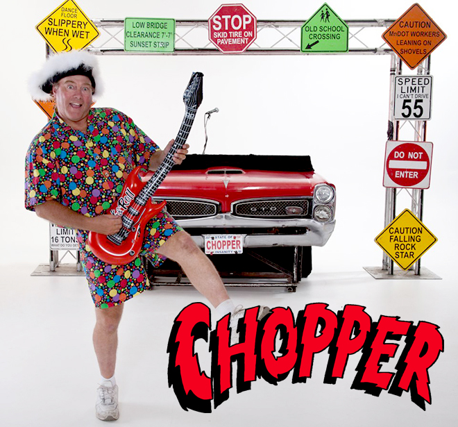 Chopper World's Nuttiest DJ'
