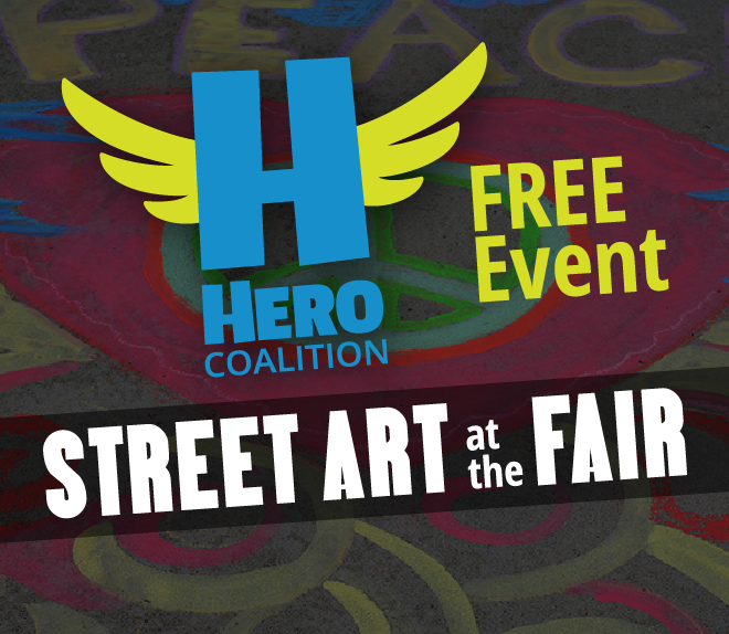 Street Art at the Fair by HERO Coalition