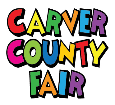 Carver County Fair stacked logo