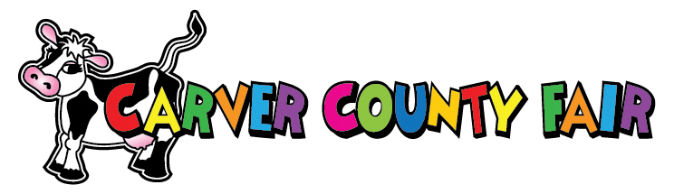 Carver County Fair logo with Tippy